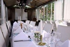 Vinterbröllop - ljust i vårt glashus